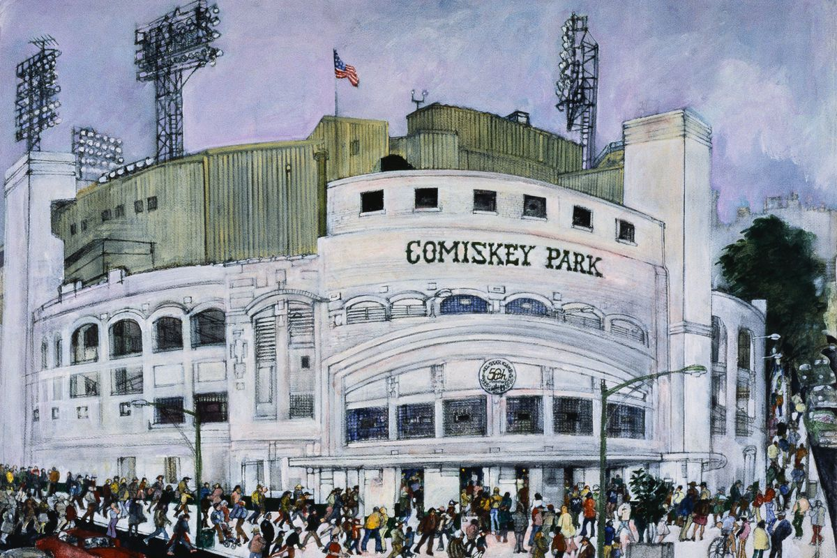 Comiskey Park, Chicago White Sox by Franklin McMahon