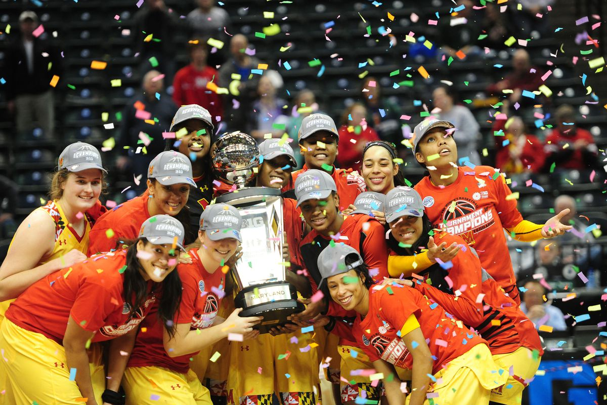 Maryland women's basketball won their second straight Big Ten Tournament title with a 60-44 win over No. 19 Michigan State
