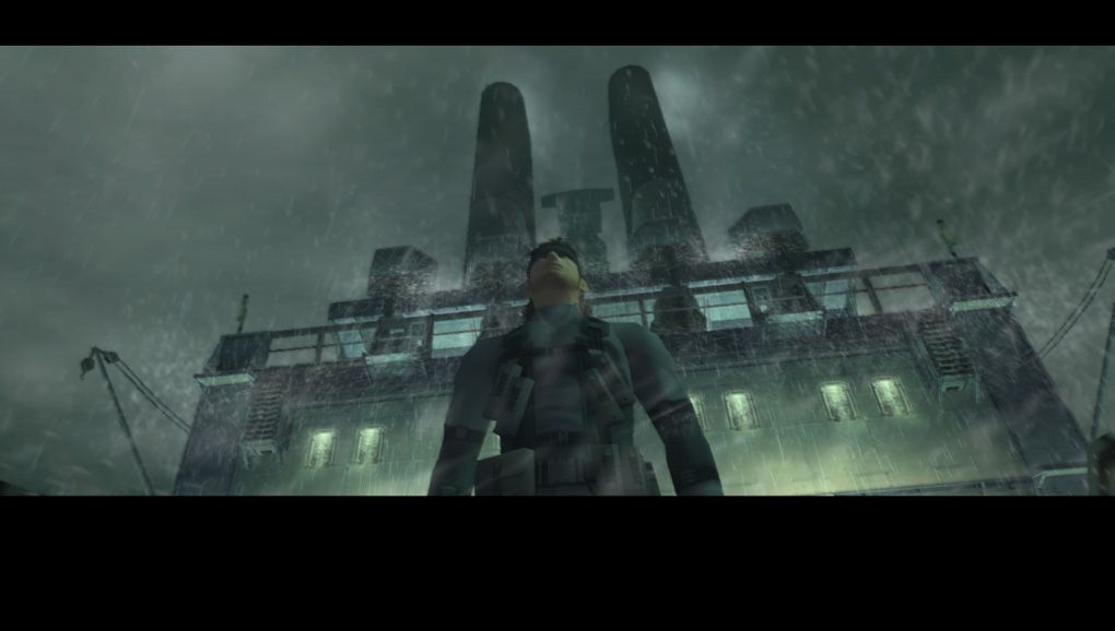 Metal Gear Solid 2: Sons of Liberty - Snake arrives on oil tanker