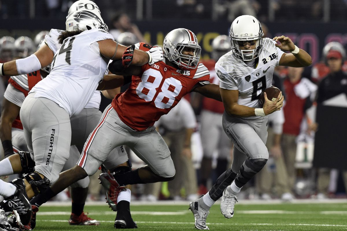 Ohio State's Steve Miller could help shore up a D-line at the next level.