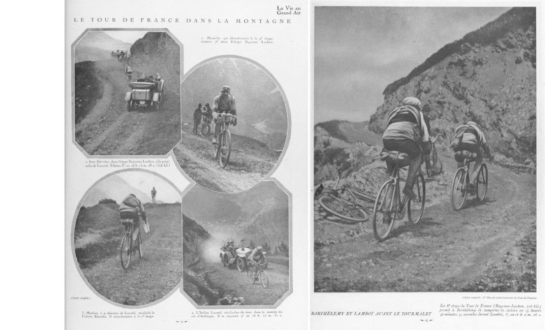 The 1919 Tour in the mountains
