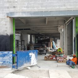 A look at the first floor of the plaza building (south end) -