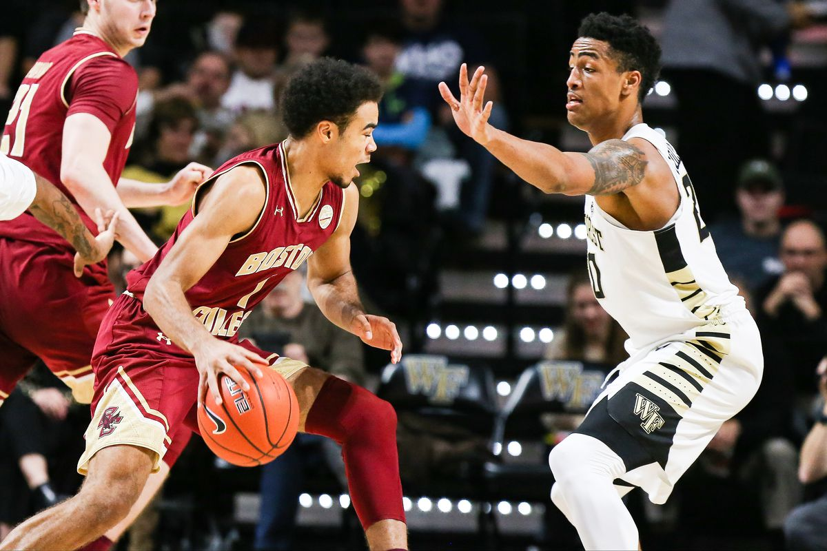 NCAA BASKETBALL: JAN 03 Boston College at Wake Forest