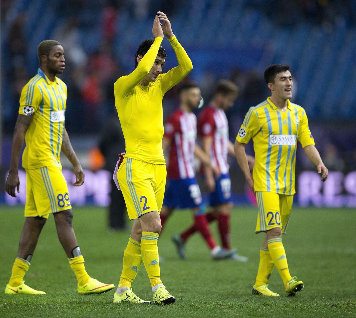 Club Atletico de Madrid v FC Astana - UEFA Champions League