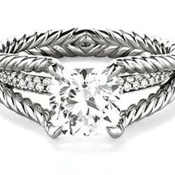 This is The Renaissance. She's a 1 carat beaut fetching $17,250.