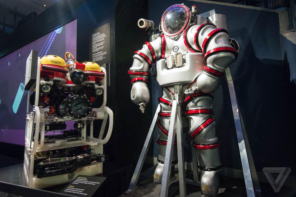 Exosuit Deep Diving Suit