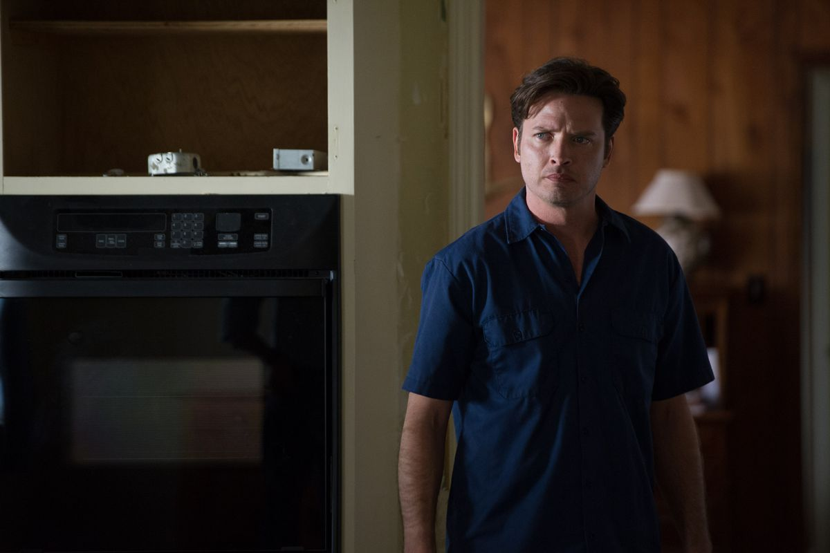 Aden Young plays Daniel Holden as a walking wound in Rectify.