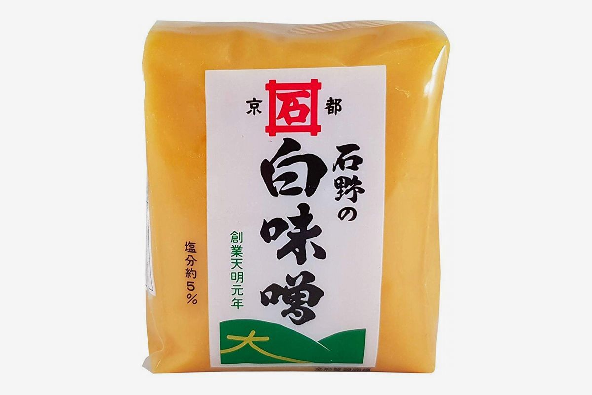 a package of Ishino White Miso