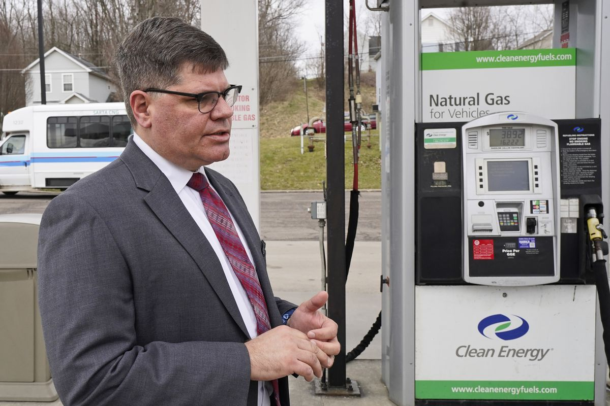 Kirt Conrad, chief executive officer and executive director of SARTA, the public transit agency in Canton, Ohio, which now has 14 hydrogen-fueled buses.
