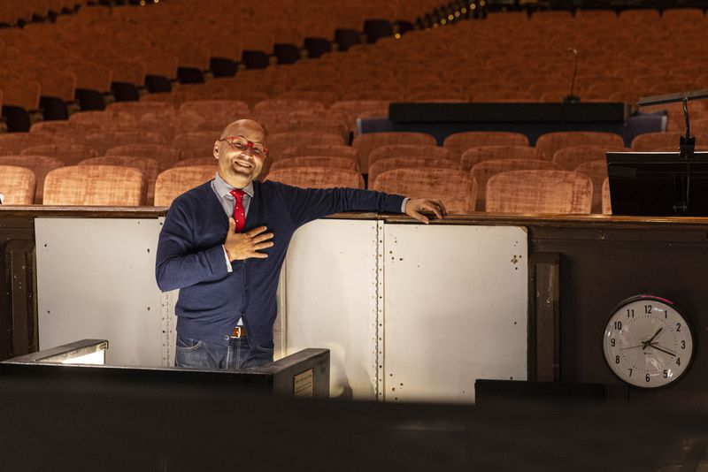 """Enrique Mazzola will lead three operas a season as Lyric Opera of Chicago's new music director, and he plans to make a point of always conducting the season opener, as he will this year with """"Macbeth."""""""