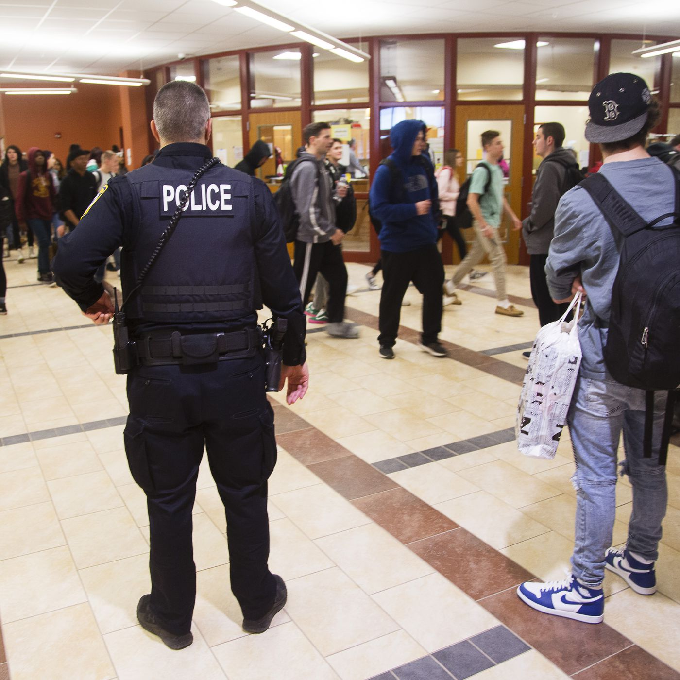Why civil rights groups are calling for police-free schools