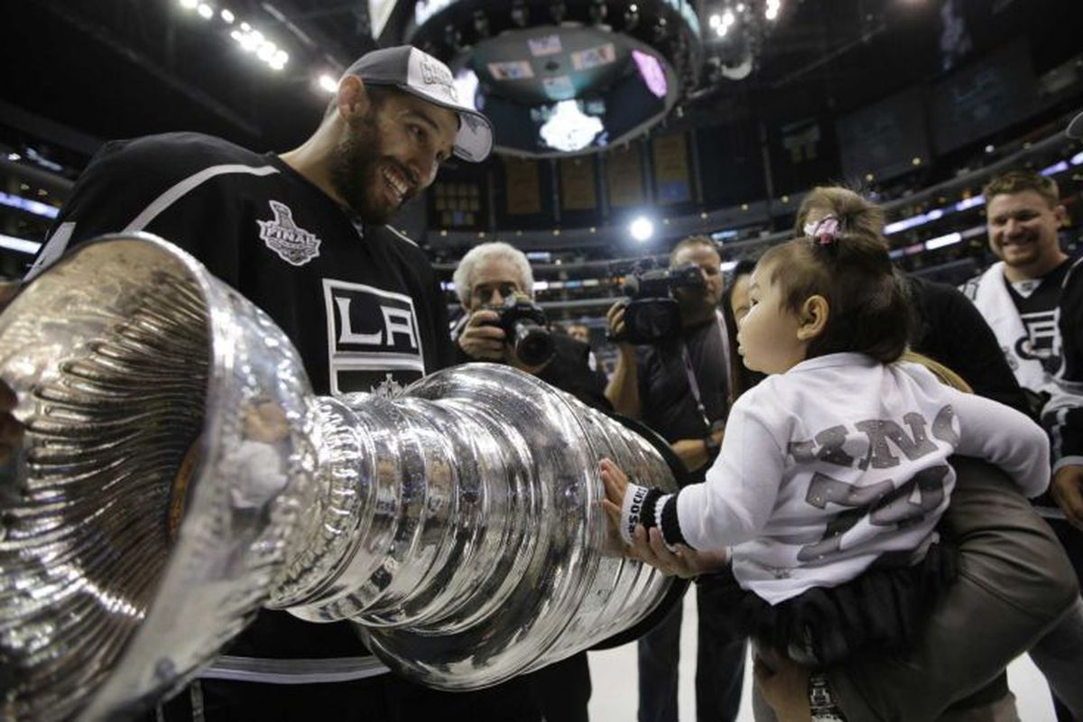 A Stanley Cup and a super adorbs baby girl. This is the ultimate perfect picture