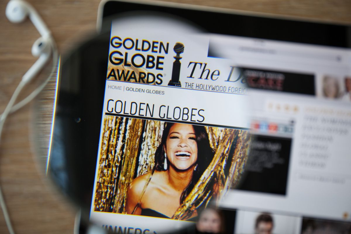 You can read all about the Golden Globes on a fancy machine connected to the World Wide Web!