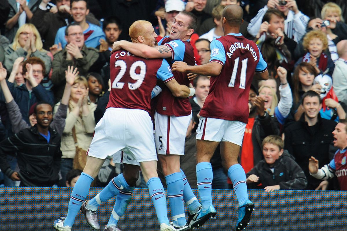 Hey, remember when Aston Villa beat Chelsea? Saturday would be a great time for Richard Dunne to re-discover his form. (Photo by Michael Regan/Getty Images)