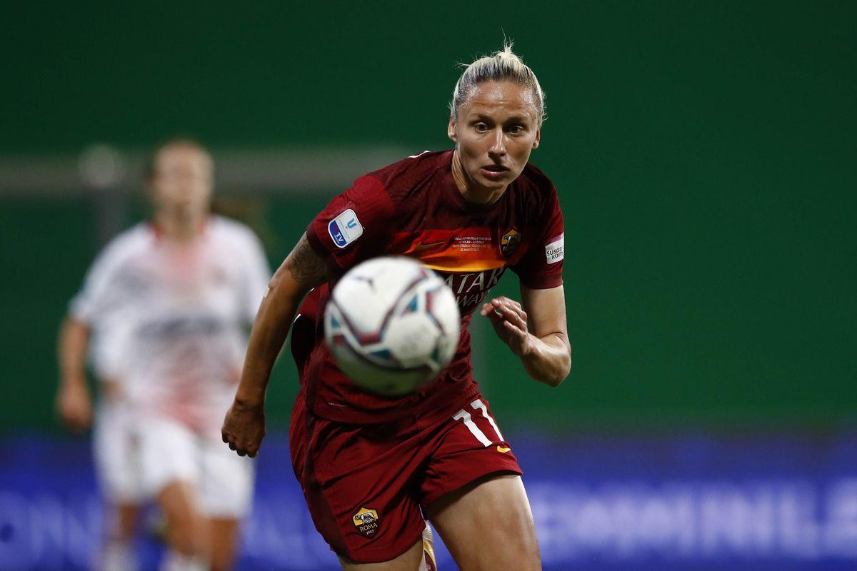 AS Roma v AC Milan - Women's Coppa Italia Final