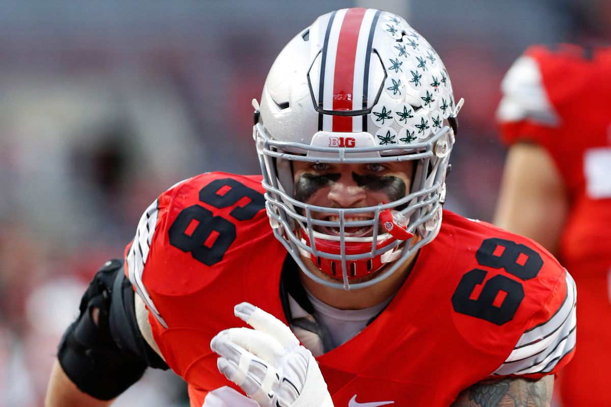 Taylor Decker Joey Bosa named 2015 consensus All Americans Land
