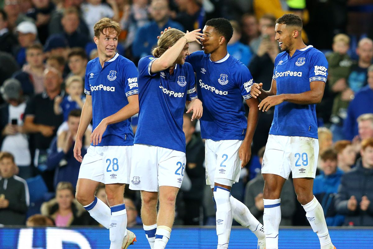 Everton v Rotherham United - Carabao Cup Second Round