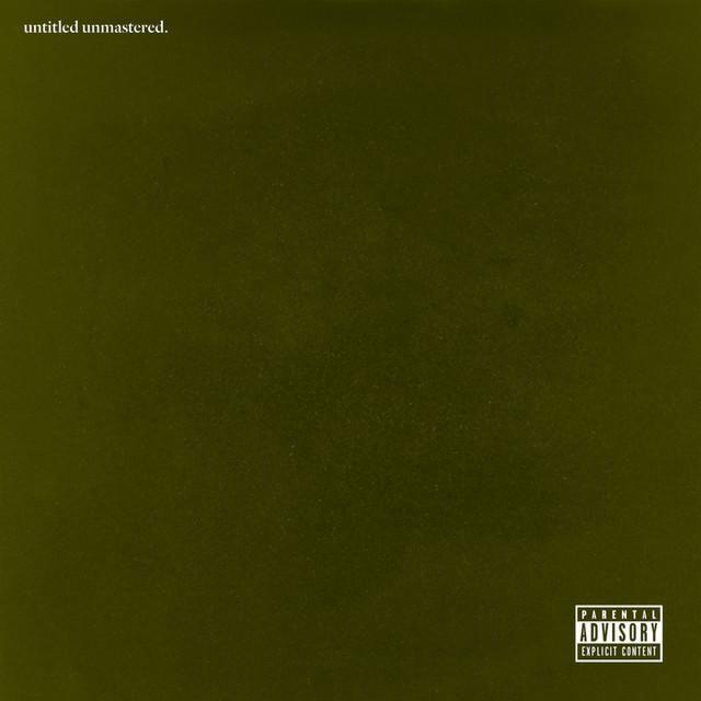 "Kendrick Lamar, ""Untitled Unmastered."" cover art"