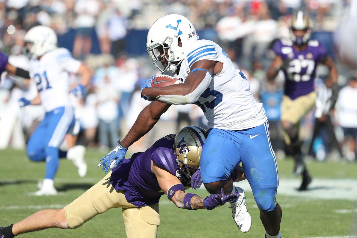 NCAA Football: Washington at Brigham Young