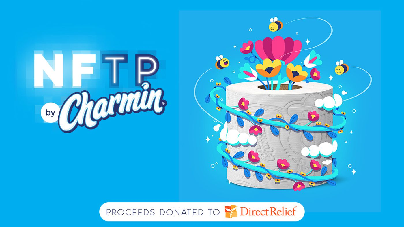 NFTs are in the toilet: Charmin is selling toilet paper-themed crypto art after weird whales NFT