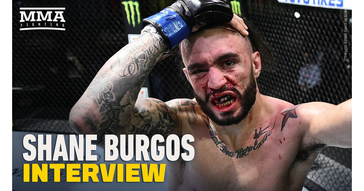 Video: Shane Burgos approaching UFC 262 matchup with Edson Barboza like 'a world title fight'