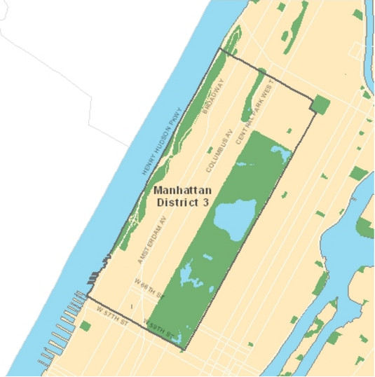 District 3 includes the Upper West Side. (Photo credit: New York City Department of Education)
