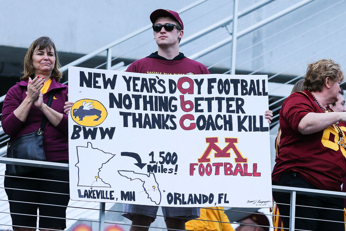 Will the Gophers be back on New Years Day in 2016?