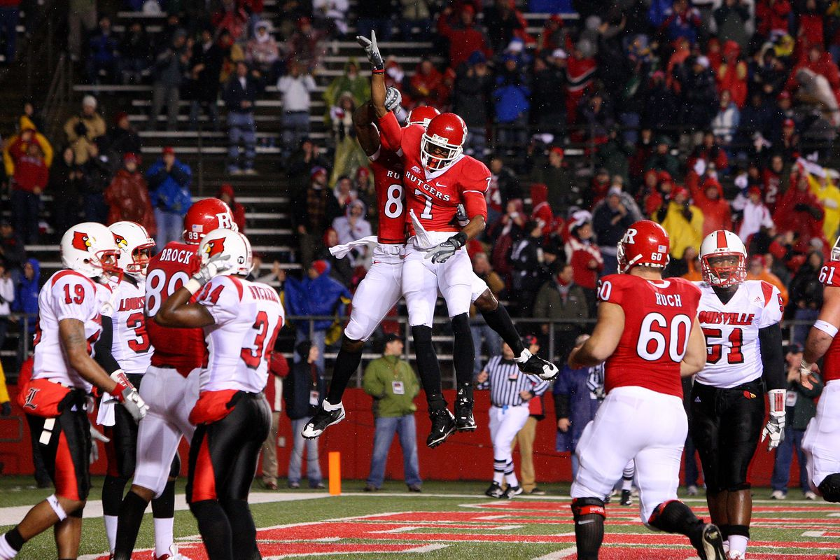 Louisville Cardinals v Rutgers Scarlet Knights