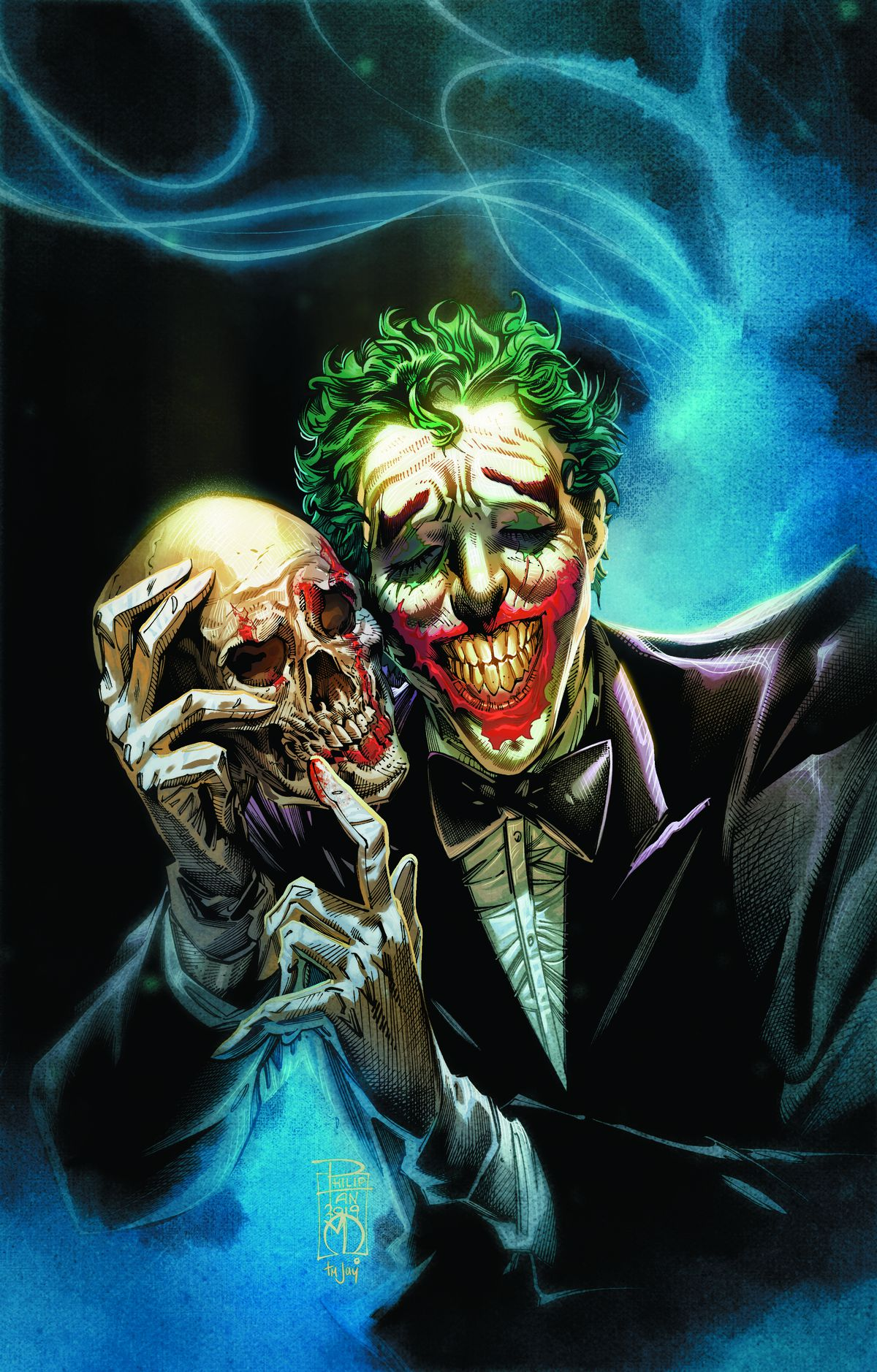 Carpenter Horror Joker writing John comic  a legend is