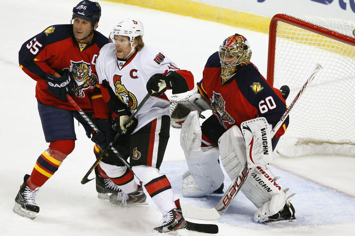 The Panthers will be looking to avoid a Senators sweep.