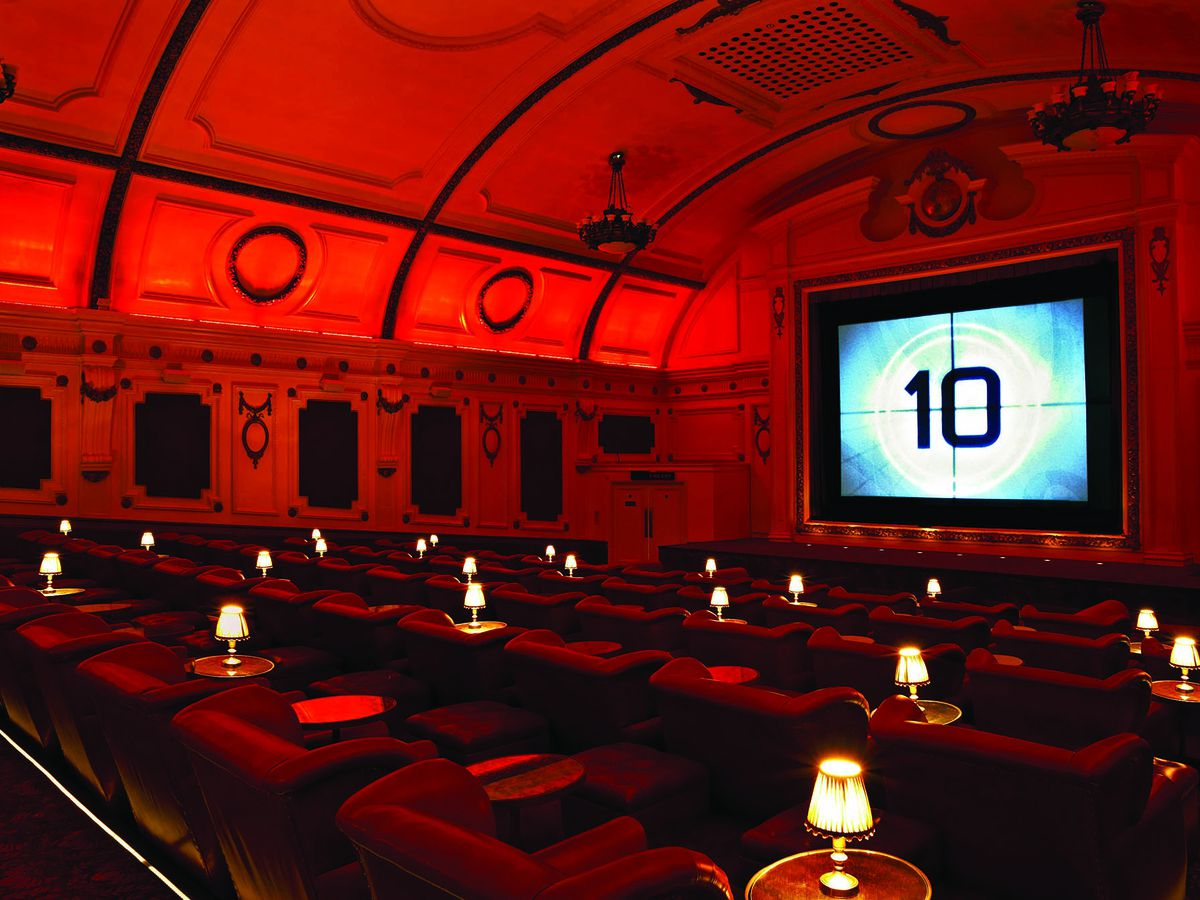 Electric Cinema Portobello in Notting Hill, one of the best places for cinema food in London