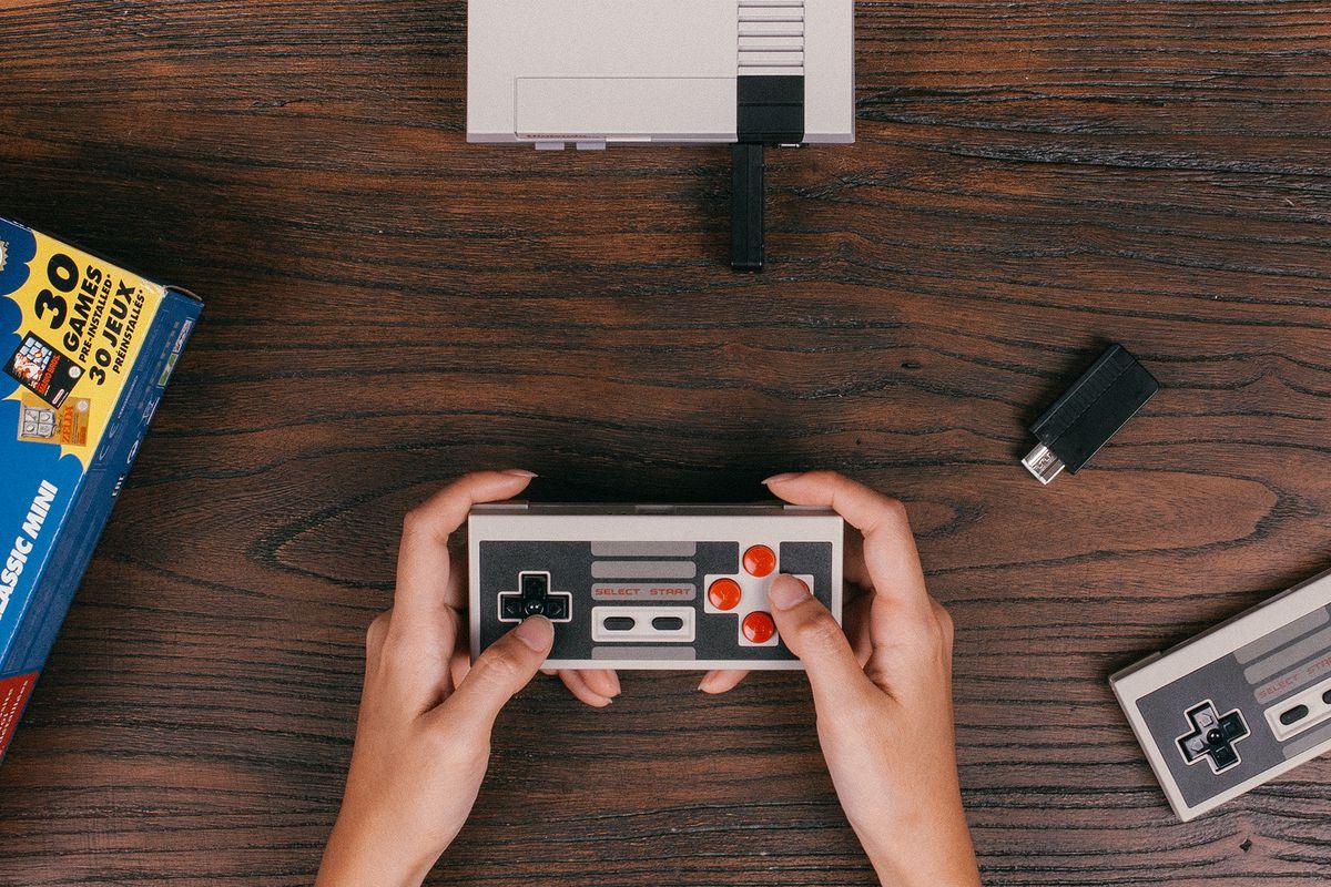 NES Classic Edition Retro Receiver wireless adaptor