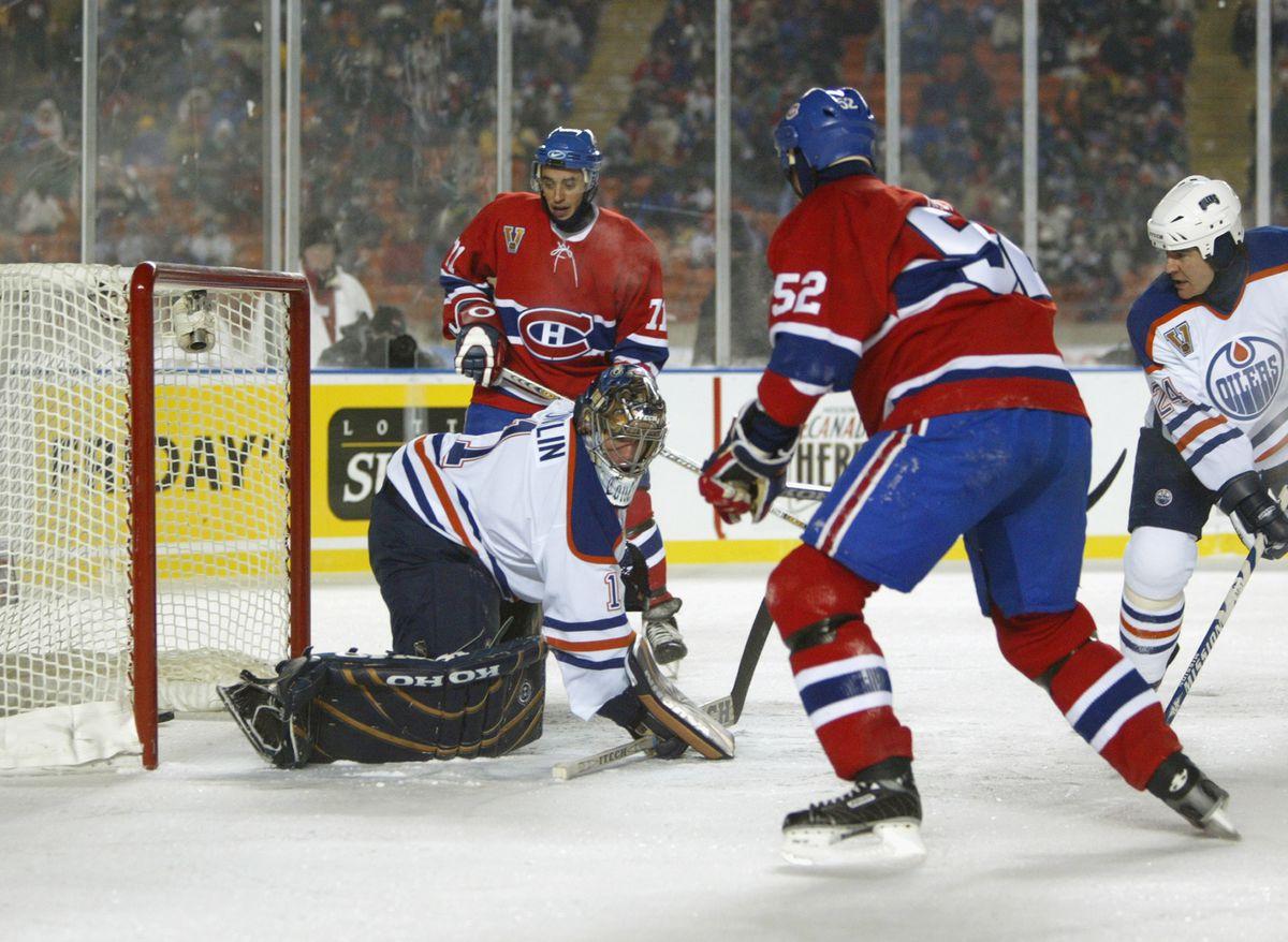 Canadiens v Oilers