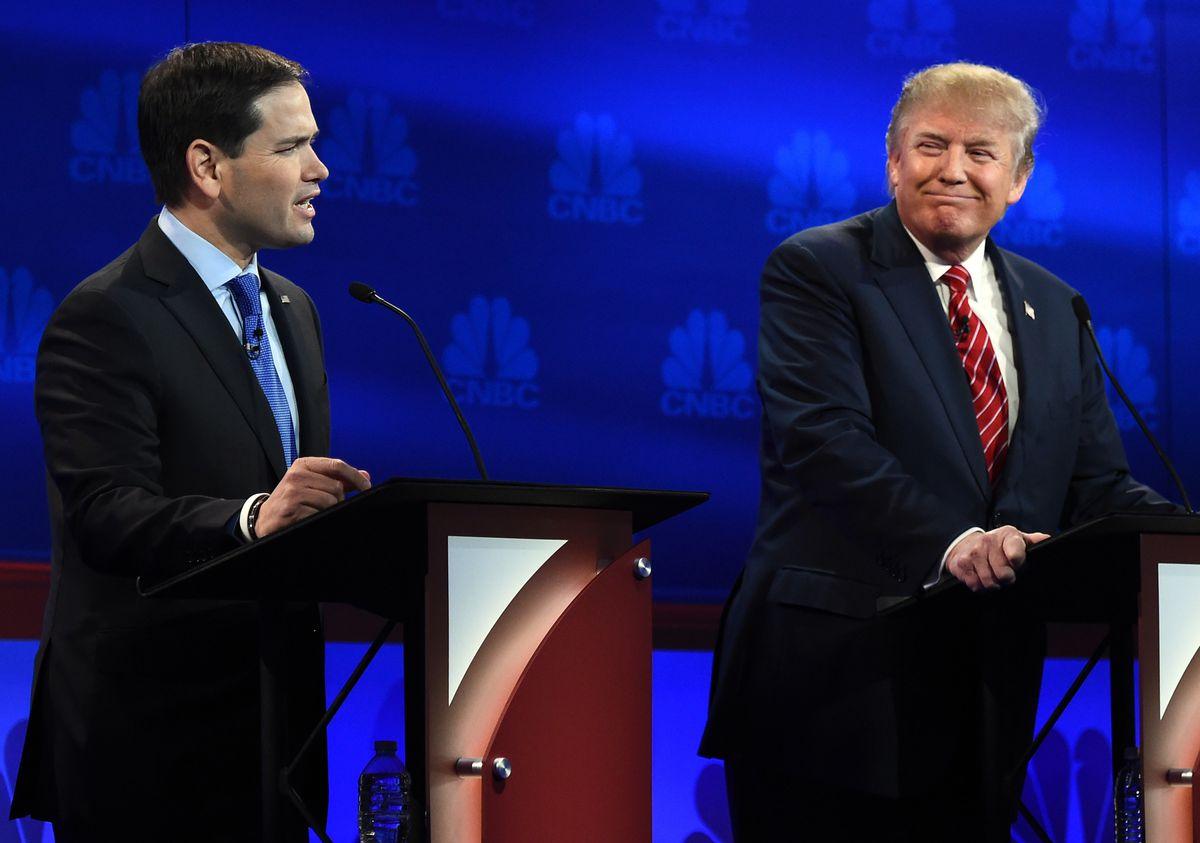 Rubio and Trump