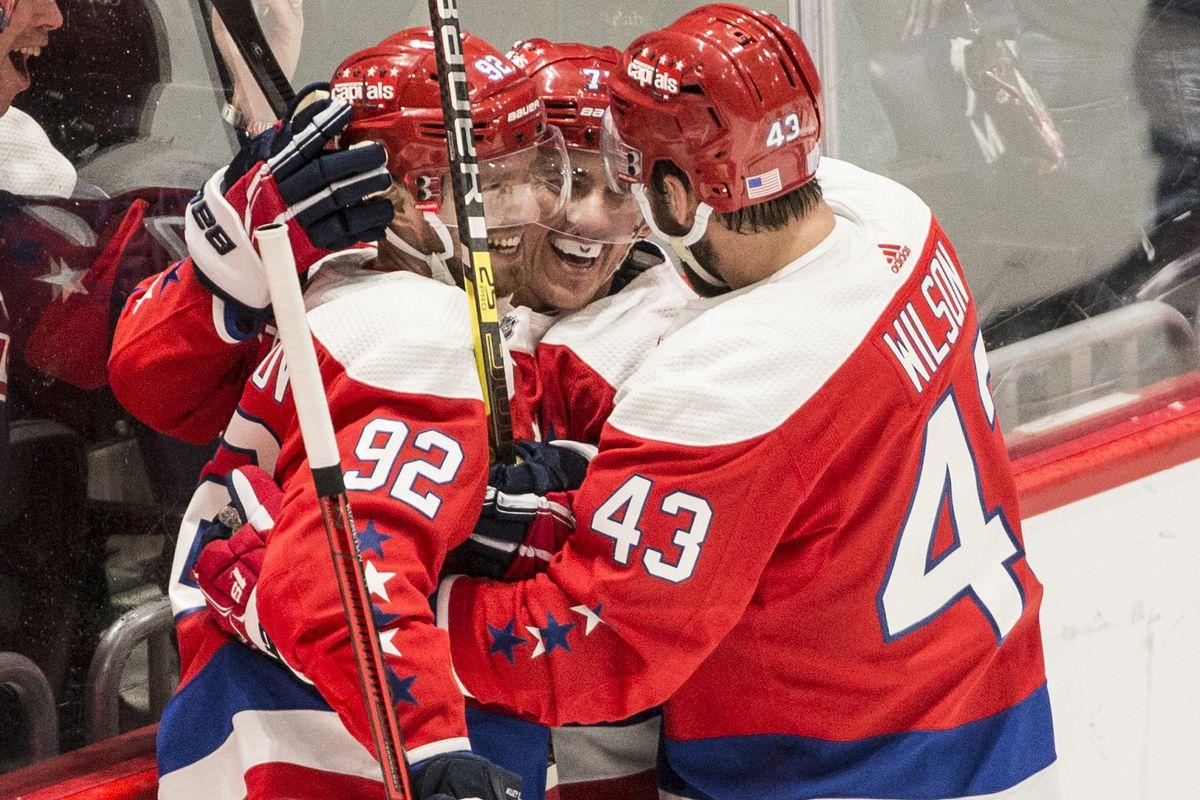 NHL: NOV 11 Coyotes at Capitals