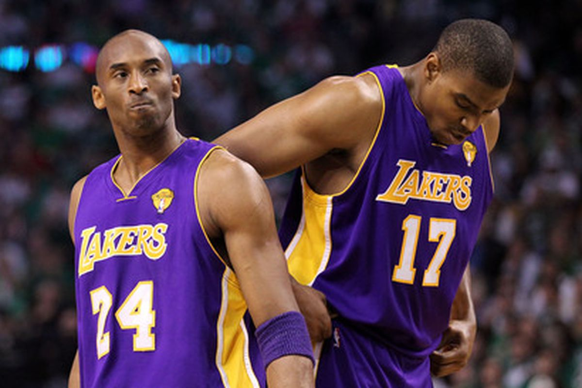 online retailer 7dc2d 76367 Andrew Bynum, Kobe Bryant and what never could be - SBNation.com