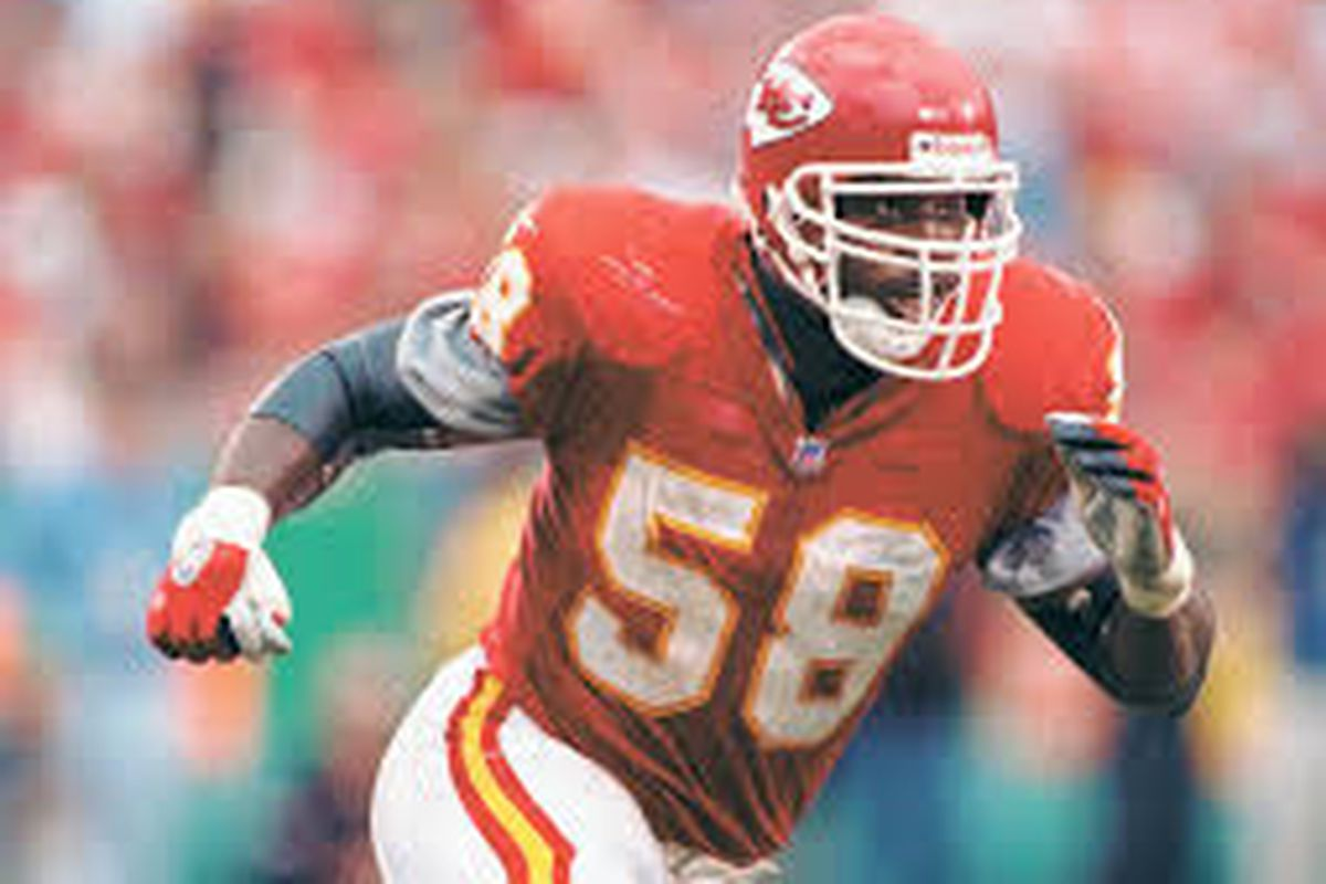 best loved e5123 86c6a Kansas City Chiefs legend Derrick Thomas preferred his ...
