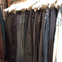 Men's denim from Acne and Blk Dnm, $64.50—$84 (was $215—$280)
