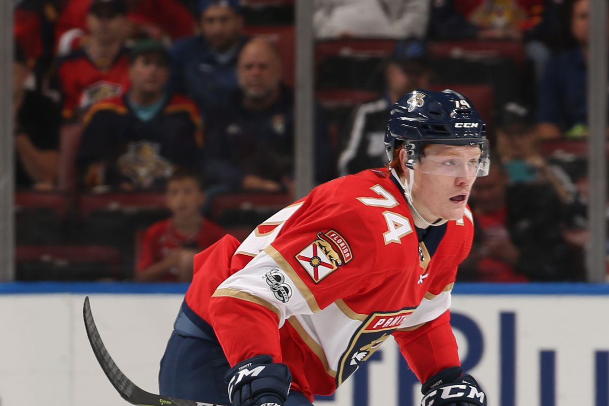 8202647b7 Florida Panthers Top 25 Under 25   11 Owen Tippett Increased depth could  push Florida s 2017 first-rounder back to junior