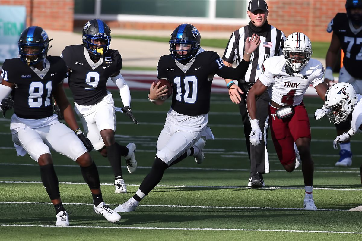 COLLEGE FOOTBALL: NOV 21 Middle Tennessee at Troy