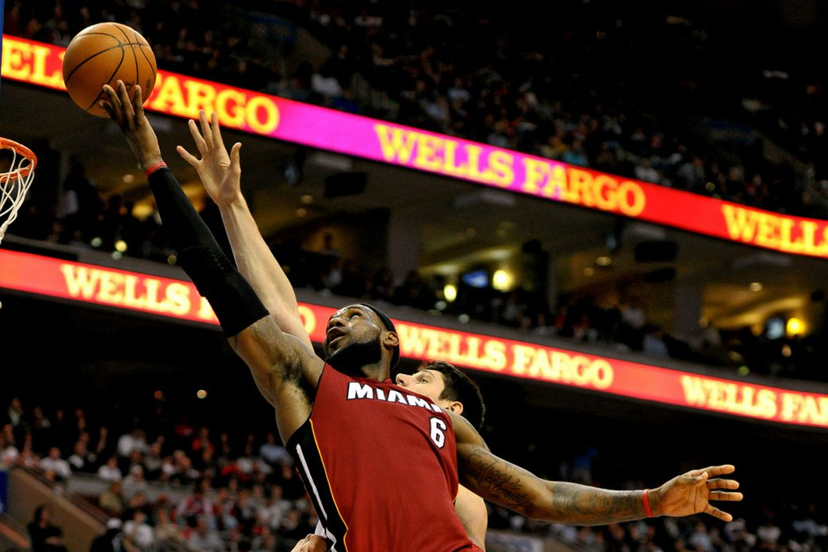 LeBron James and the Heat look to keep their home winning streak alive tonight against Orlando.