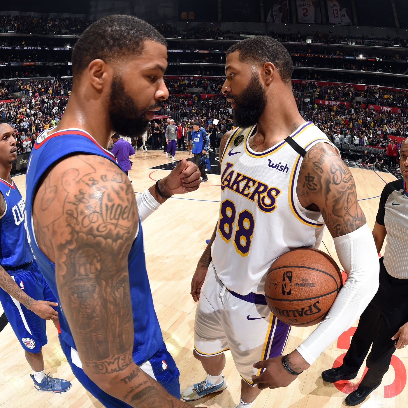 Markieff Morris Says Lakers Would Sweep Clippers In Playoffs Silver Screen And Roll