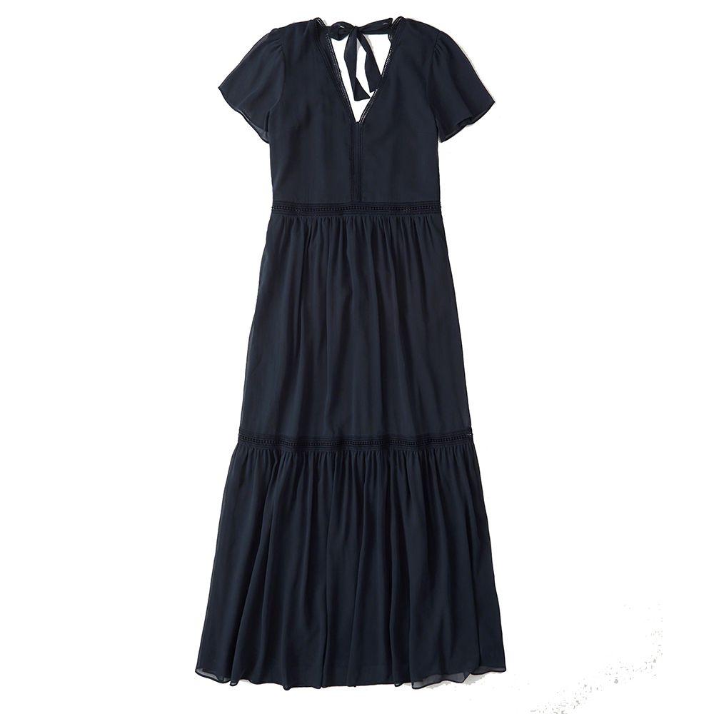 Abercrombie Short Sleeve Maxi Dress, $88