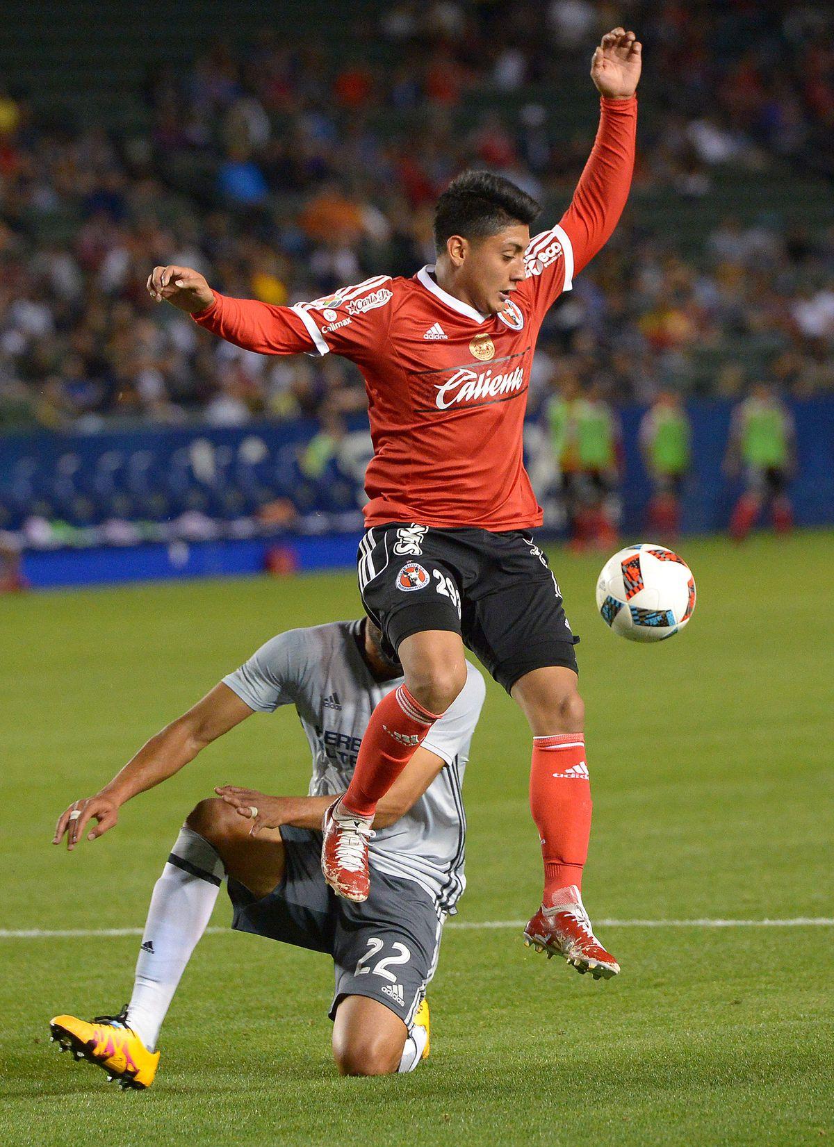 MLS: Preseason-LA Galaxy vs Club Tijuana