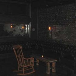 The sexy upstairs lounge