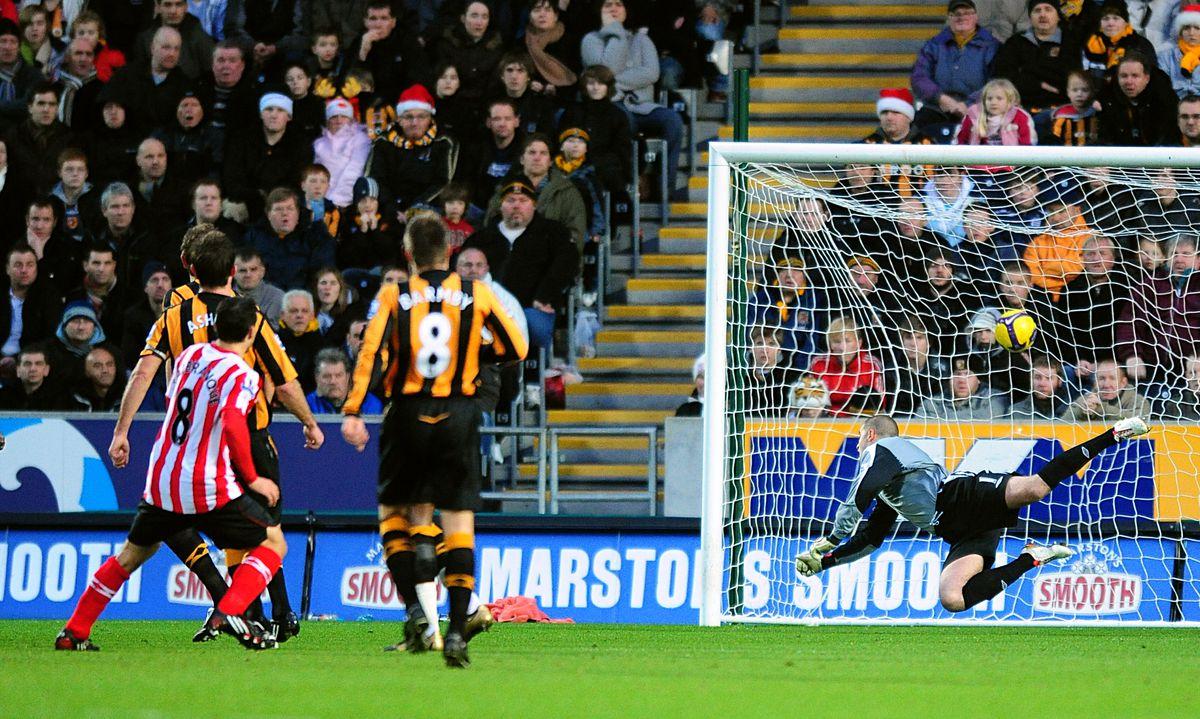 Soccer - Barclays Premier League - Hull City v Sunderland - KC Sradium
