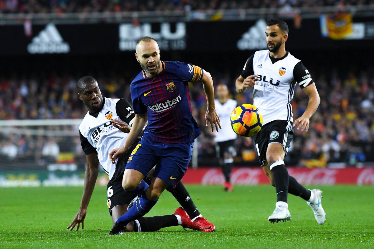 برشلونة وفالنسيا بث مباشر
