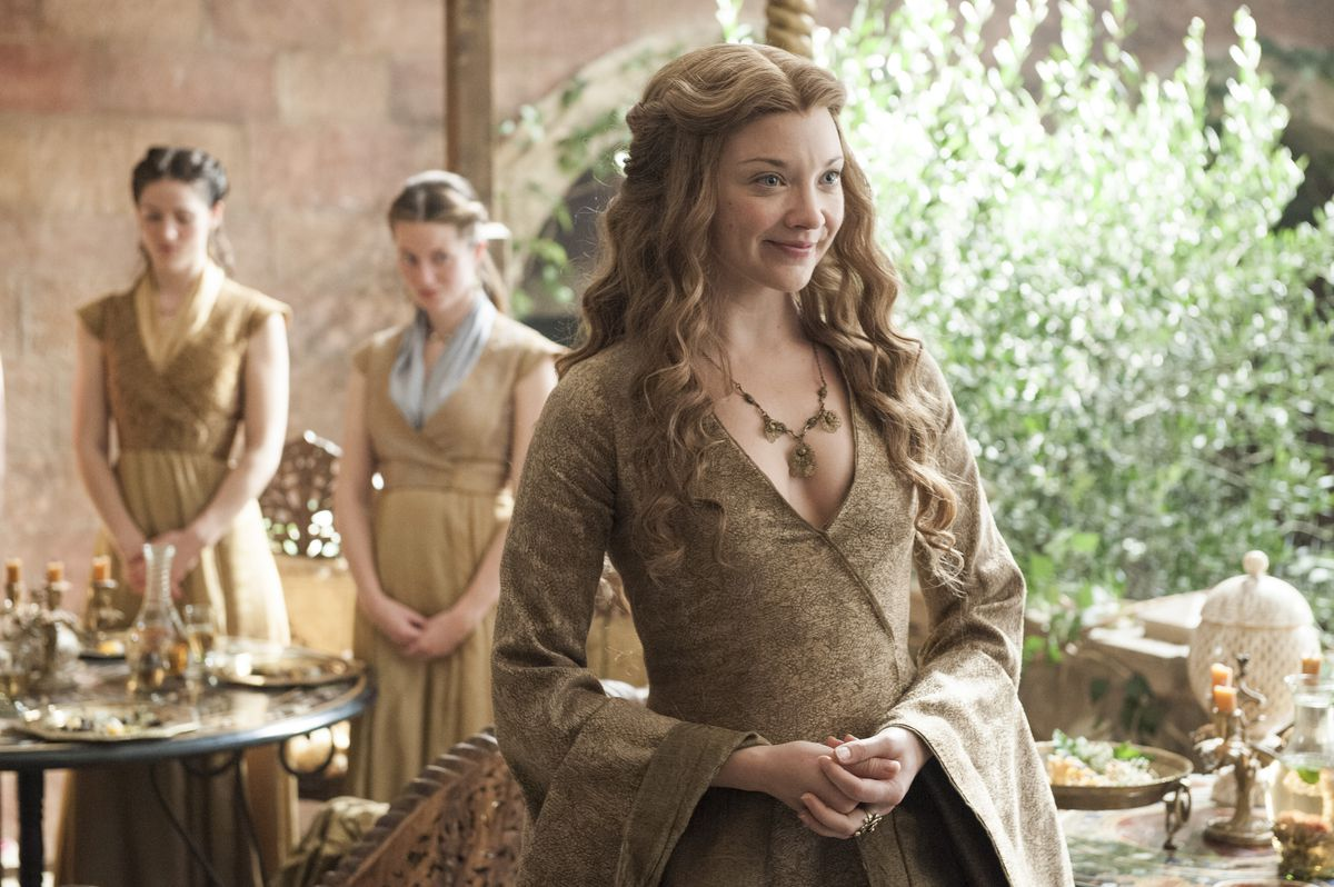 Margaery Tyrell is now queen of the Seven Kingdoms. Good for you, Margaery! (HBO)