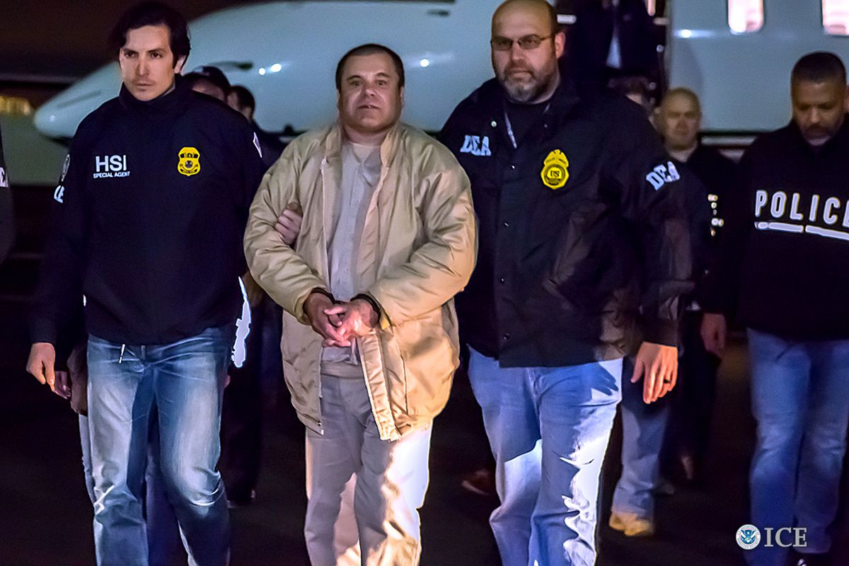 El Chapo: the extraordinary trial of the drug lord is