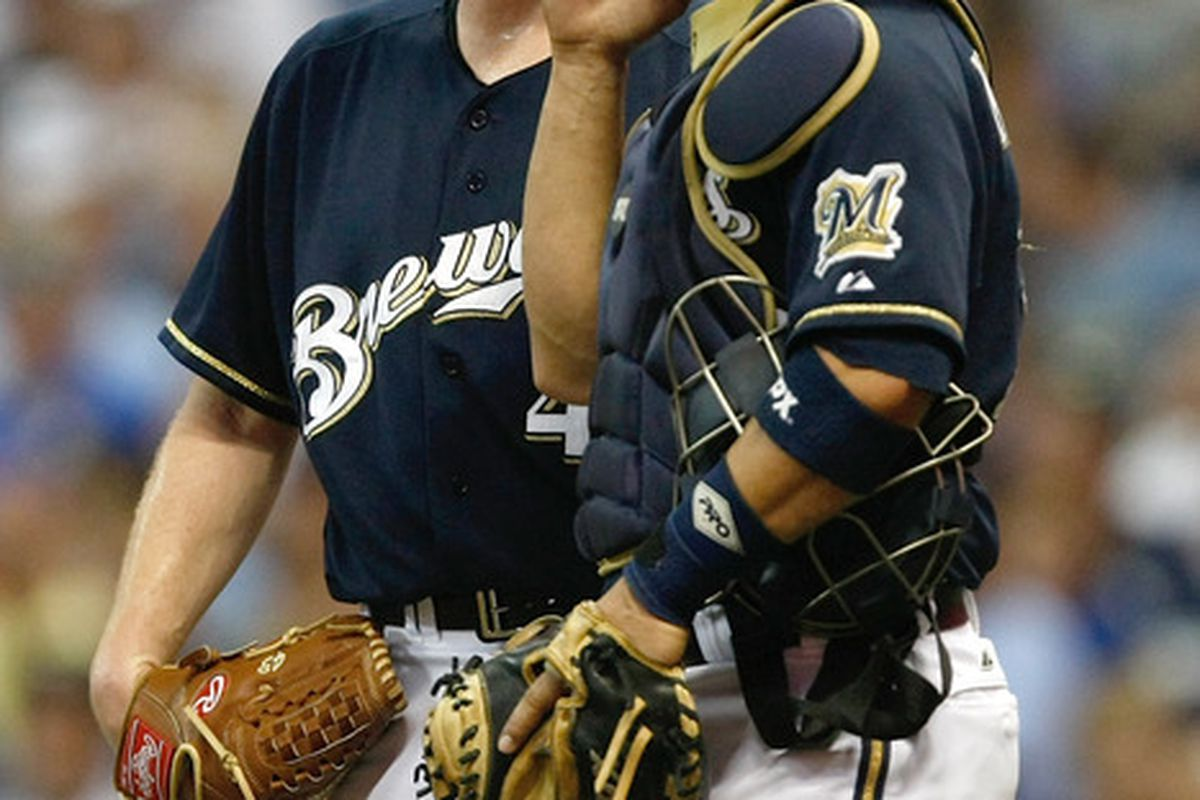 Randy Wolf and Wil Nieves discuss their conspiracy to keep Jonathan Lucroy out of games.